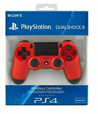 Sony PS4 Dualshock 4 Wireless Controller Magma Red *FACTORY REFURBISHED*