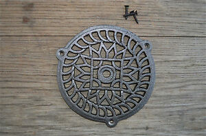 FANTASTIC-ROUND-CAST-IRON-VICTORIAN-STYLE-GRILL-AIR-VENT-COVER-CB5