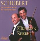 Schubert: The Complete Works for Violin & Piano (CD, Aug-2016, 2 Discs, Biddulph Recordings)