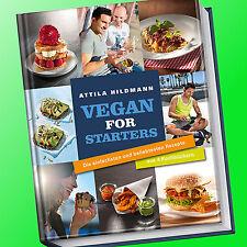 ATTILA HILDMANN   VEGAN FOR STARTERS   einfachste & beliebteste Rezepte (Buch)