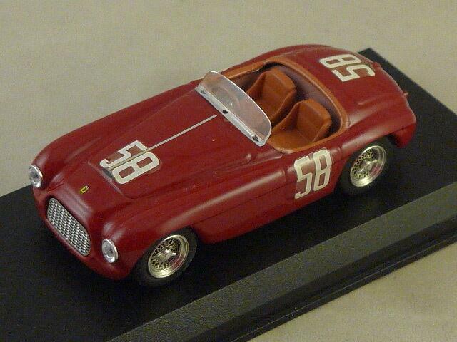 ART MODEL 242 - Ferrari 212 MM N°58 Targa Florio Florio Florio - 1951   1 43 192d16