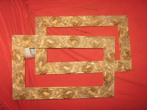 cornice foglia oro  misure interno 24 x 30
