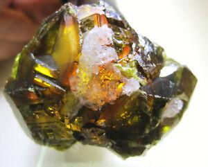 +++ Sphalerit (Honigblende) mit Quarz xx // Huallanca, Peru +++ Stufe I54