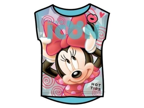 Girls Children Child Disney Minnie Mouse T-Shirt Top age 2-10 years