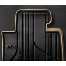 BMW OEM Beige Rubber Floor Mats SET 2012-2016 F30 Sedans 320i 328i 51472220140