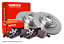 HONDA CRV MINTEX FRONT BRAKE DISCS /& PADS MK1 10//1995-/>