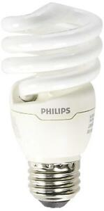 5 PACK Sylvania 28957 Spiral Light Bulb 13W Replaces 60W T2 Compact GU24 Base