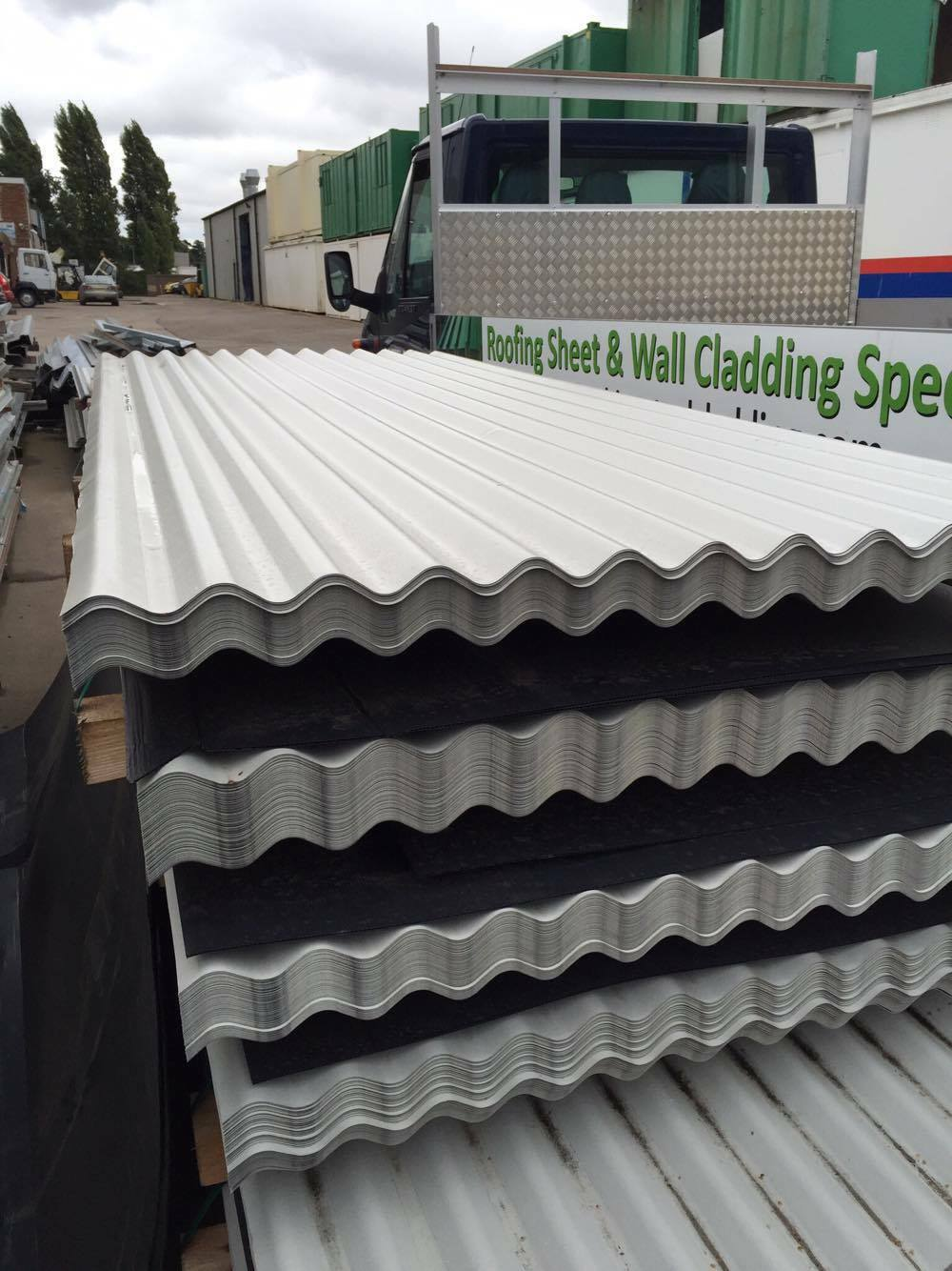 Cheap Corrugated Roofing Sheets Metal Steel Goosewing Grey