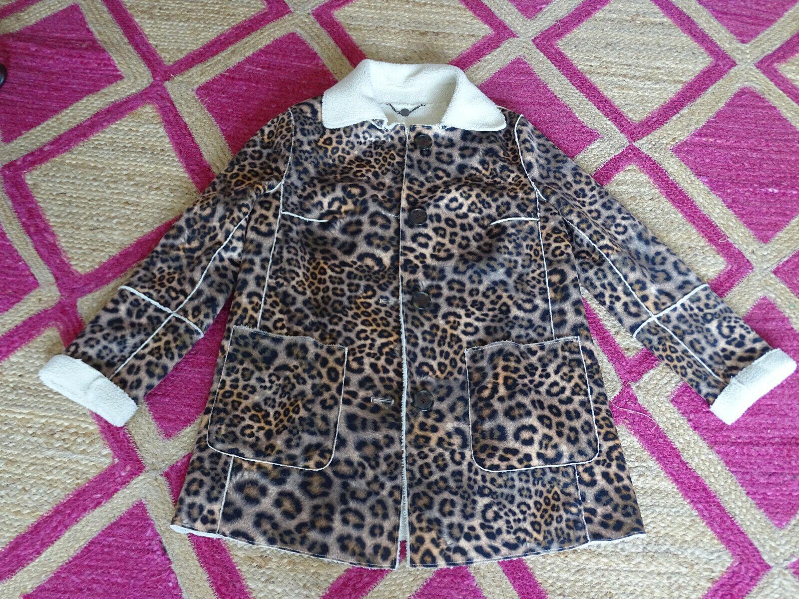 Marc Cain Jacke N1 animal print leopard ndnlji1529 neue