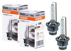 2x-BRUCIATORE-OSRAM-LAMPADA-ORIGINALE-d2s-66240clc-XENARC-Classic-FANALI-XENON