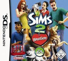 NINTENDO DS 3DS DIE SIMS 2 HAUSTIERE *Deutsch GuterZust.