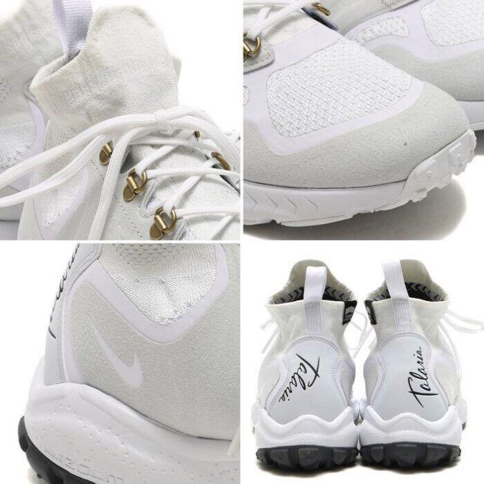 nike zoom talaria outdoor mitte fk flyknit weißen outdoor talaria 8,5 stiefel sneakerboot 856957-100 e92c15