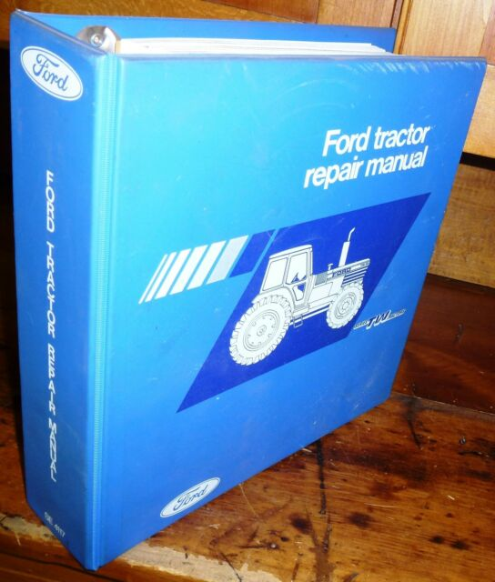 FORD TW5 TW15 TW25 TW35 TRACTOR REPAIR MANUAL W/BINDER