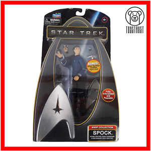 Spock-Action-Figure-Star-Trek-Warp-Collection-Posable-Toy-TV-Character-4-Boxed
