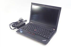 """12.5"""" HD Lenovo ThinkPad X230 i5-3320M 2.6GHz 320GB HDD 8GB RAM NO OS"""