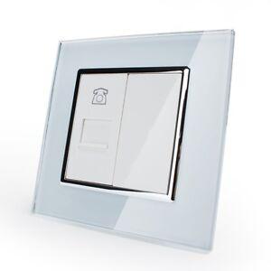 Prise-telephonique-avec-cadre-en-verre-prise-vl-c7-1t-11-Livolo-WALKER