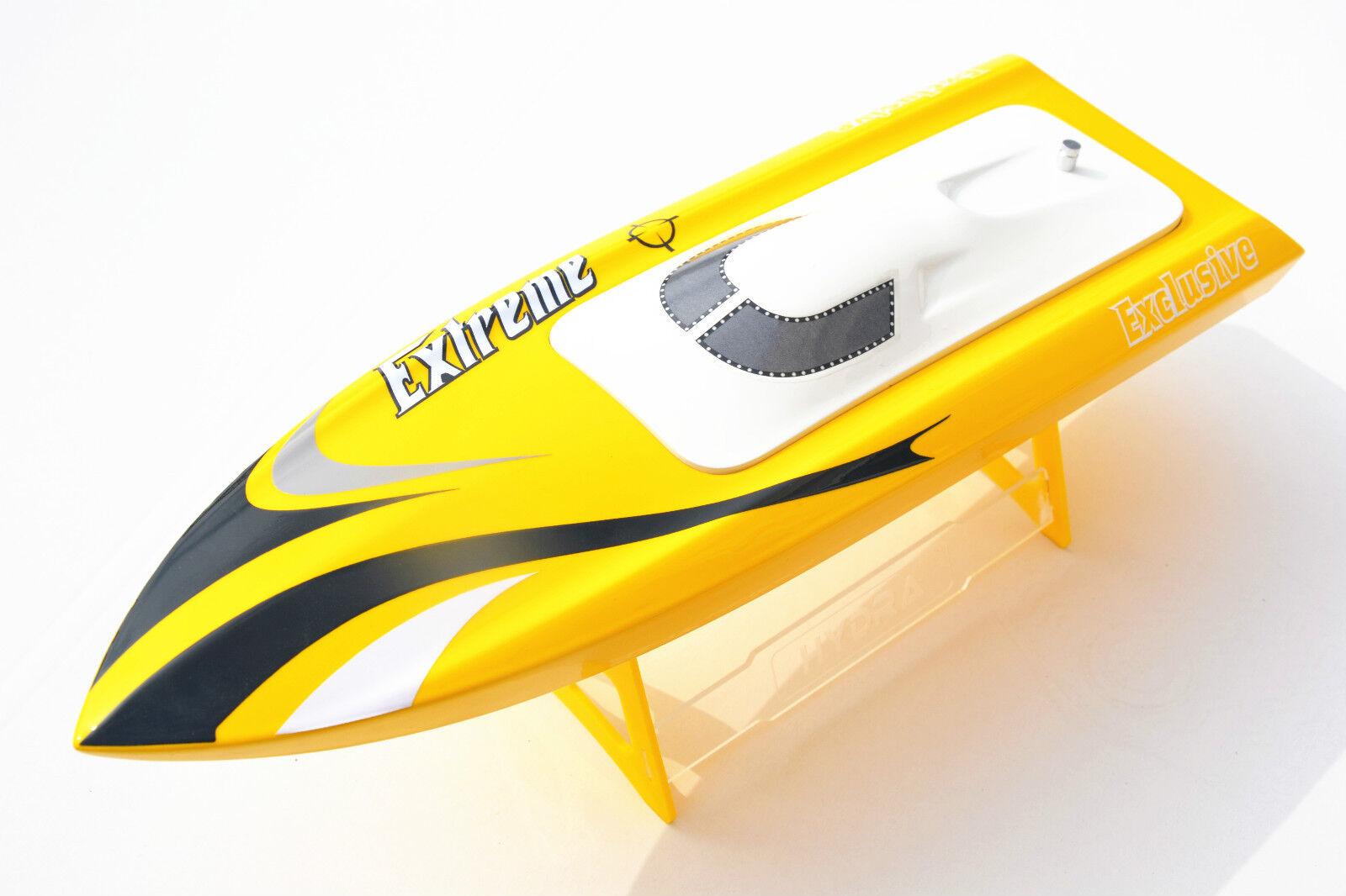 Yellow M390 Electric B2445 3100KV Brushless 40A ESC RC Racing Boat Model PNP
