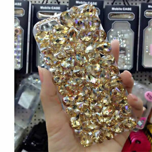 NEW-DELUX-COOL-LUXURY-BLING-GOLD-DIAMANTE-CASE-4-VARIOUS-MOBILE-PHONES-6-7-8-9-X