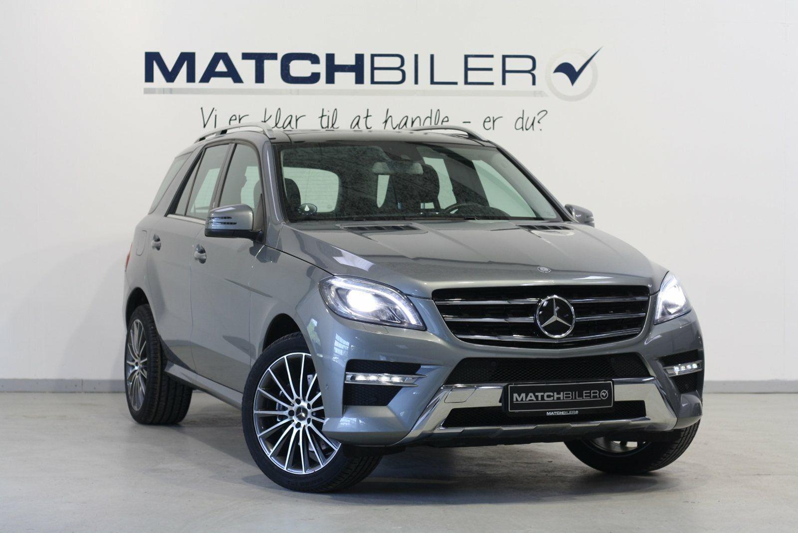Mercedes ML350 3,0 BlueTEC aut. 4-M 5d - 679.800 kr.