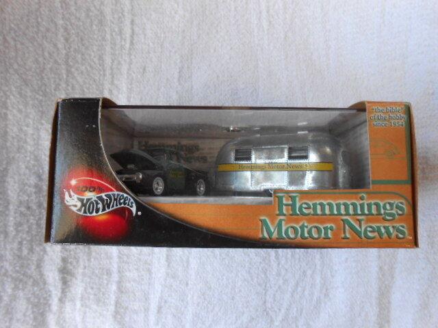 HEMMINGS MOTOR NEWS 57264 HOT WHEELS 2002 MATTEL 56 FORD 49 AIRSTREAM CLIPPER