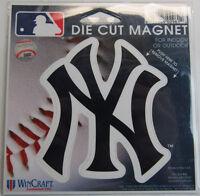 Mlb 4 Inch Auto Magnet - York Yankees