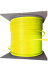 Red 1000ft Cat6 Plenum Ethernet CMP 550Mhz Cable Gray Yellow White