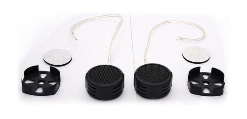 2x car-Tweeter rosado 50 vatios 90db 4-20khz altavoces box auto Hi-Fi Sound