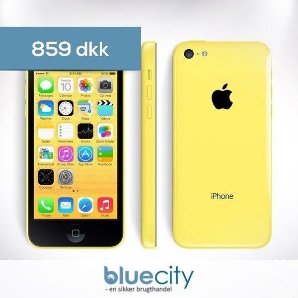 iPhone 5C, GB 16, gul