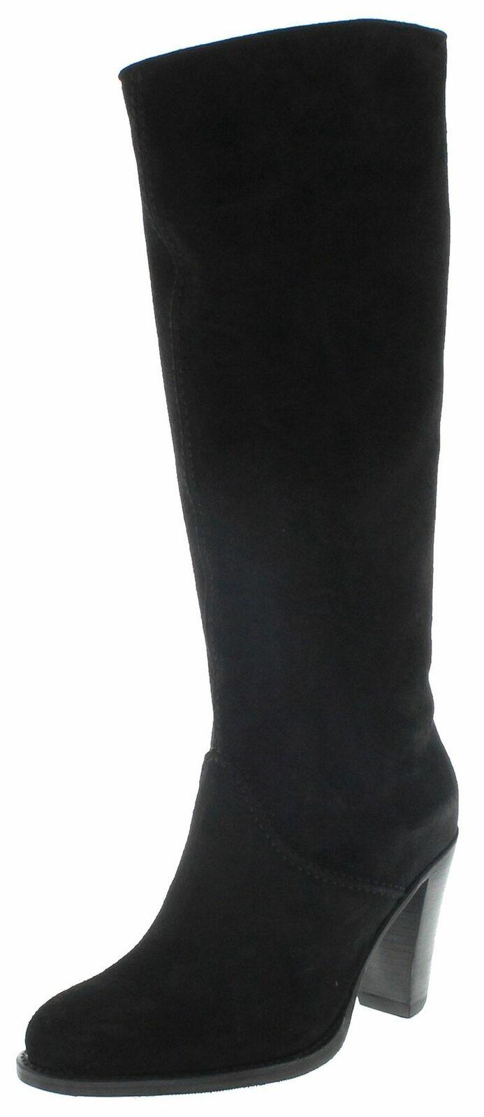 FB Fashion Stiefel SOFIA HIGH schwarz Damen Lederstiefel High-Heel Stiefel Schwarz