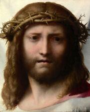 Art Oil painting Portrait of Jesus torture canvas