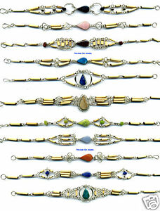 20 BRACELETS SOUTH AMERICAN HANDCRAFTED ARTISAN JEWELRY
