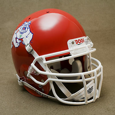 FRESNO STATE BULLDOGS Schutt AiR XP Authentic GAMEDAY Football Helmet