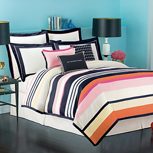 Kate Spade New York Quot Candy Shop Stripe Quot Twin Duvet Cover