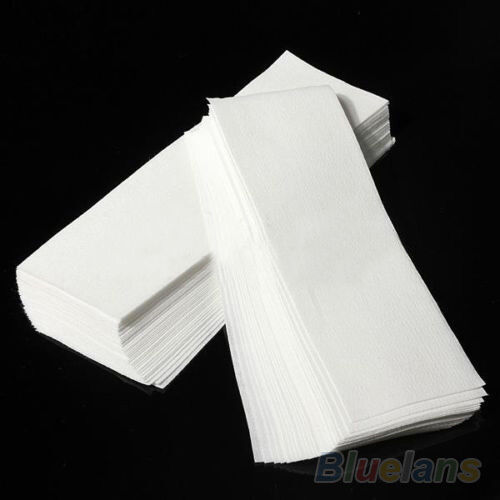Wholesale 100X Waxing Hair Removal Depilatory Epilator Wax Strip Paper No Harm
