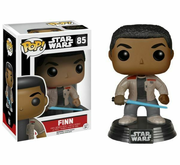 Star Wars The Force Awakens Finn with Lightsaber Exclusive Pop! Vinyl Figure