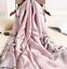 miniature 7 - Grande-Echarpe-Foulard-Chale-Cadeau-Femme-100-Soie-Parme-Elegant-Chic-Style-Mode