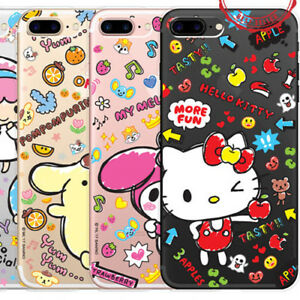 Genuine-Hello-Kitty-Friends-Fruit-Jelly-Case-iPhone-5S-5-Case-iPhone-SE-Case
