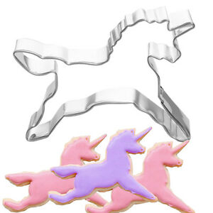 CA Unicorn Horse Cookies Cutter Mold Cake Decorating Pastry Baking Biscuit Mould