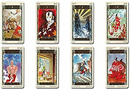 Samurai Tarot 78 Cards Deck Rare  Out of Print Item