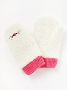 John Lewis Hand Knitted Childrens Mittens Gloves Age 5-8 years Sparkly Warm NEW