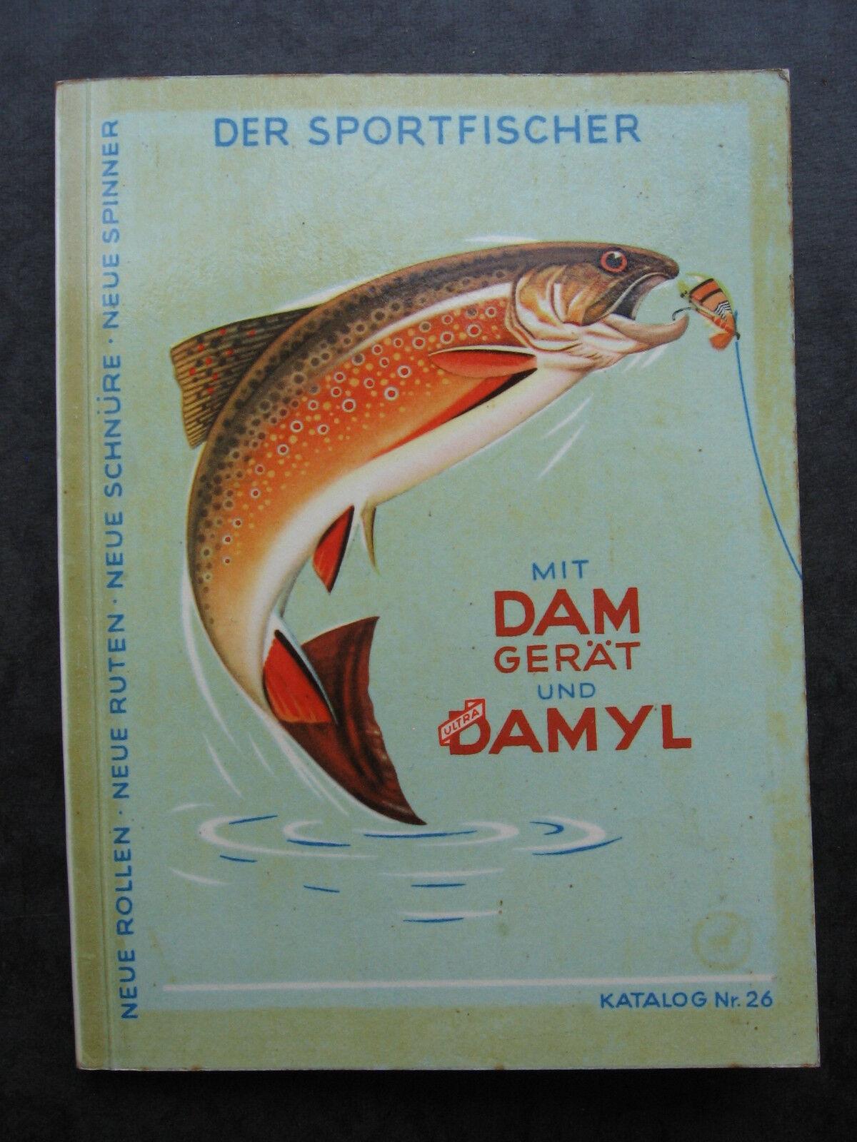 Dam Damyl Angel dispositivi CATALOGO N. 26 Angel catalogo con info scrivere 1958