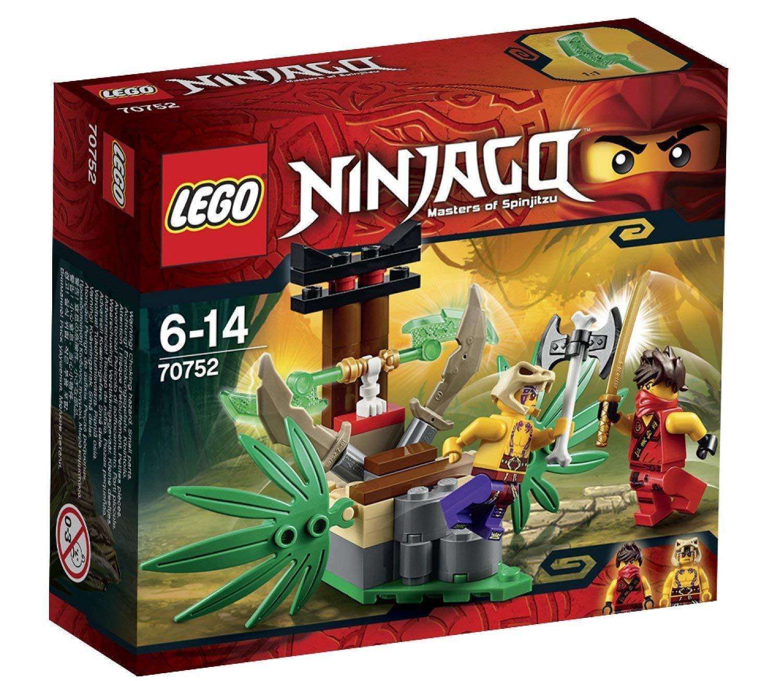 LEGO Ninjago - Jungle Trap 70752 70752 70752 with Kai & Krait Minifigures SEALED & Brand NEW 698446