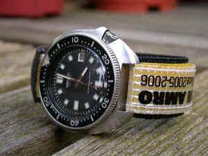 Volvo-Oceano-Carrera-Gancho-Bucle-Reloj-de-Buceo-Correa-20mm-Winner-Abn-Amro