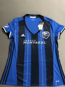 MLS Impact Montreal adidas Women's Replica Short Sleeve Jersey XL ...