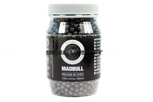 MadBull Precision 0,4 g Ultimate Pesado Francotirador 5,95 +   - 0,01 Mm Bb 2000rds-gris
