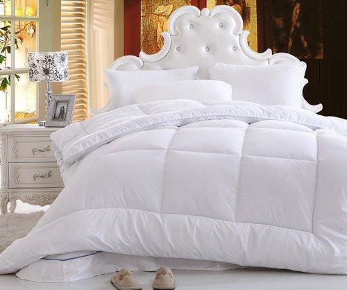 Solid White Alternative Down Filler Twin DaDa Bedding Duvet Insert Comforter