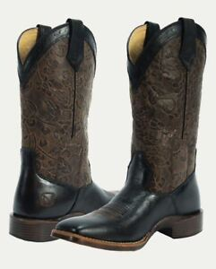 a2bc33463eb Details about Noble Outfitters Women's All Around Square Toe Floral Western  Riding Boots