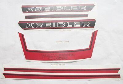 Schwarz Kreidler Florett K 54 LFH Glocke Klingel Emblem Gold