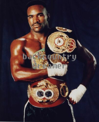 EVANDER HOLYFIELD Poster Fight Art Print Classic Boxing Canvas Sticker A
