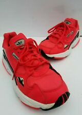 Size 7.5 - adidas Falcon Shock Red for